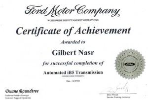 Automatic iB5 Transmission
